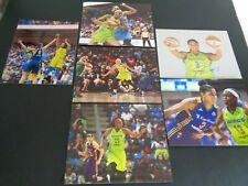 DALLAS WINGS Womens Basketball WNBA Signed 8 x 10 Photo Lot of 6 Free Shipping