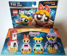NEW LEGO DIMENSIONS TEAM PACK THE POWERPUFF GIRLS 71346 FREE WORLDWIDE SHIPPING