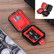 Portable Memory SD Card Storage Carrying Case Protector Box Holder Waterproof