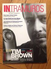 Magazine INTRAMUROS N°79 (international design magazine) Octobre/Novembre 1998