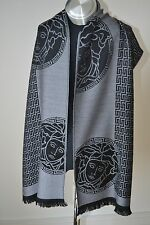 NEW GENUINE  VERSACE WOOL SCARF  MADE IN ITALY Unisex   Gift