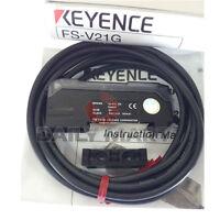 KEYENCE FS-V21G FSV21G DOUBLE DIGITAL FIBER OPTIC SENSOR AMPLIFIER PLC NEW