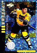 1997-98 Score Boston Bruins Platinum #20 Don Sweeney