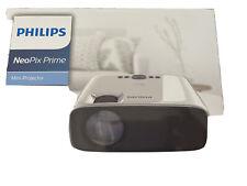 "New listing Philips NeoPix Prime 120"" Hd Wireless Bluetooth Mini Lcd Projector | Npx540"