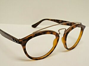 Authentic Ray-Ban RB 4257 6267/B9 Gatsby II Matte Tortoise Sunglasses Frame $235