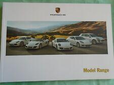 FOLLETO de rango de Porsche 2013 de junio