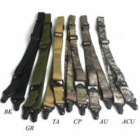 Hunting Dual Two 2Points Rifle Sling Adjustable Nylon Multi-function Accessories