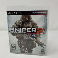 Sniper: Ghost Warrior 2 Sony PlayStation 3 PS3 Game Complete With Manual Tested