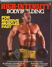 HIGH-INTENSITY Bodybuilding  muscle workout exercise book/ELLINGTON DARDEN
