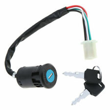 Ignition Switch Key Lock Electric 4 Wires 2 Key Motorcycle ATV Dirt Bike Scooter