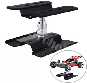 RC Car Work Stand Repair Workstation Aluminum 360° Rotation for RC Truck Buggy