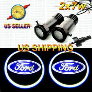 2x7w Ghost Shadow Laser Projector Logo LED Light Courtesy Door Step FORD