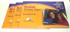 KODAK Picture Paper For Inkjet Printers 120 Sheets Total Soft Gloss 4x6