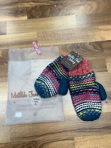 NWT Matilda Jane 28369A size L Gloves Girls Mittens