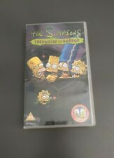 THE SIMPSONS TREEHOUSE OF HORROR VHS (VERY GOOD CONDITION)