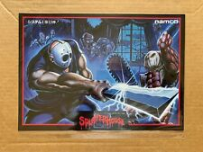 Splatterhouse - Jamma Arcade Flyer NOS Japanese - Cave Namco Art Arts