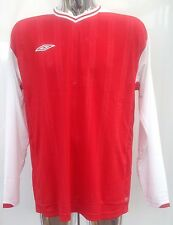 Umbro Veloce Long Sleeve Football Shirts - Size XL