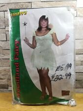 SMIFFYS WOODLAND FAIRY PLUS SIZE FANCY DRESS COSTUME SIZE 16 - 18 NEW IN PACKET