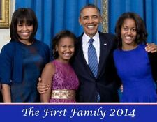 "The First family (""Collectors Item"")  2014   (Flip) Calendar -12 Pages"