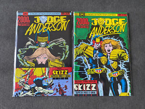 2000 AD Presents #5 & 6 Judge Anderson Judge Dredd & Skizz 1986 Alan Moore