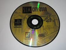 SimCity 2000 (PlayStation 1, 1996) Game Only