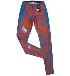 Adidas Athletic Pant Herren Hose Tight Laufhose Trainingshose Langlauf Biathlon