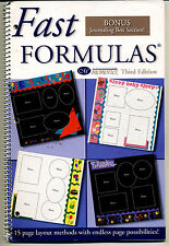 CREATIVE MEMORIES FAST FORMULAS VOL 3 IDEAS BOOK 2001 BN & NLA