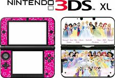 Nintendo 3ds Xl 3dsxl 3 Ds Xl Princess Rosa Vinilo Piel Decal Sticker