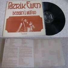 PATRICK EWEN - Beggin' I Will Go LP Folk Rock Breizh Label Nevenoe