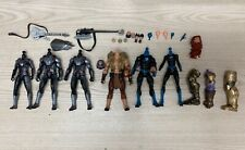 Marvel Legends Quantum Suit Body Heads Hands Custom Fodder Accessory Lot SHF 6in