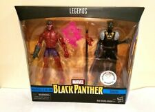 HASBRO MARVEL LEGENDS BLACK PANTHER 2 PACK KLAW & BLACK PANTHER WITH WEAPONS