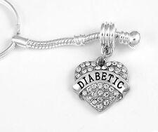 Diabetic jewelry Diabetic key chain Diabetic gift Diabetic Present Diabetic Gift