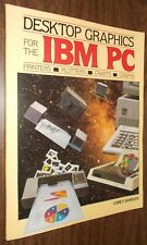 1984 book Desktop Graphics for IBM PC Printers Plotters Charts Graphs by Sandler