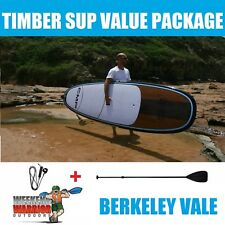 Stand Up Paddle Board PACKAGE with Paddle CMP SUP 10' 10'6  (Timber Blue)