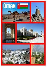 Omán - Recuerdo Original Imán de Nevera - Monumentos/Ciudades - Nuevo - Regalos