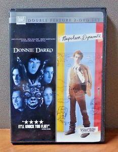 Double Feature: Donnie Darko & Napoleon Dynamite   DVD (2 Discs)  LIKE NEW