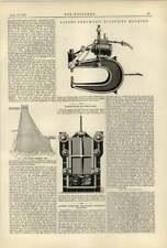 1887 Allen Pneumatique Rivet machine étanche Bunker portes Cochran Birkenhead