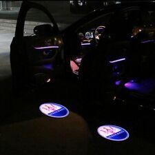 2X LED Door Light Projector Puddle Logo Emblem For MASERATI Quattroporte Ghibli