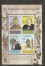 St Christopher Nevis Anguilla SC # 293a Sir Winston Churchill  . MNH