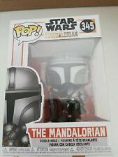 Funko POP ! Vinyl Bobble Head - 345 The Mandalorian -  Star Wars - IN STOCK
