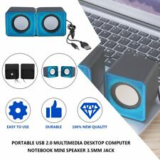 Portable USB 2.0 Multimedia Desktop Computer Notebook Mini Speaker 3.5mm Jack 02