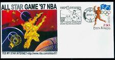 1997 Basketball,Ghita/Ghitza Muresan,ALL STAR GAME '97 NBA,Romania,CDS cover