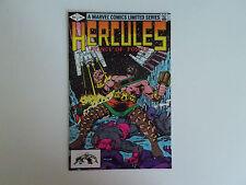 Hercules Prince of Power 1, Marvel 1982, Bob Layton, Guardians of the Galaxy