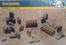 Italeri 1/35 scale kit #402, Jerrycans.