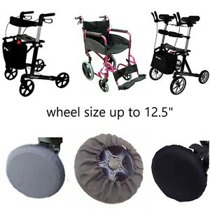 ROLLATOR WALKER WHEELCHAIR UNIVERSAL WHEELS COVER PROTECTION 1 2 3 or 4