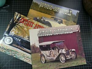 9 Vintage Antique Automobile Club Magazine 1980-1982
