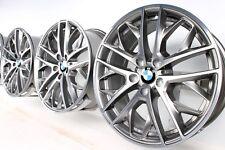 NUOVO 4x ORIGINALE BMW x1 e84 19 pollici Cerchi in lega 465 doppio Cerchi a raggi BICOLORE 6854562