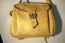 Vintage 1978 American Tourister Yellow Shoulder Carry On Travel Bag