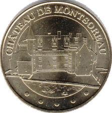 49 MONTSOREAU LE CHÂTEAU MÉDAILLE MONNAIE DE PARIS 2011 JETON TOKEN COINS MEDALS