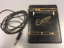Vintage Teletronics Electrod Teleducer Transducer for Telephone +
